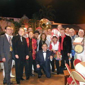 L'équipe des Magiciens du Club Med - 60 ans du Club