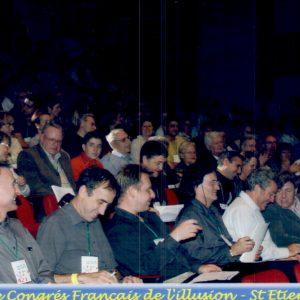 Membre du Jury aux Championnats de France de magie en 2004
